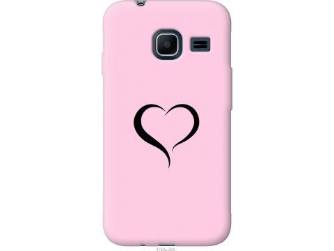 Чехол на Samsung Galaxy J1 Mini J105H Сердце 1 (4730u-258-22700)