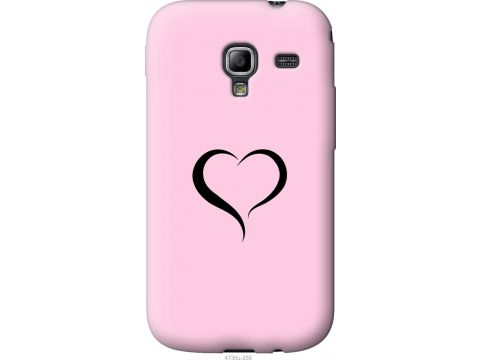Чехол на Samsung Galaxy Ace 2 I8160 Сердце 1 (4730u-250-22700)