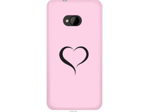 Чехол на HTC One M7 Сердце 1 (4730u-36-22700)