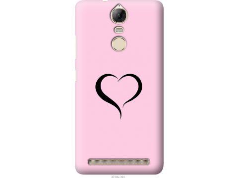 Чехол на Lenovo Vibe K5 Note Pro Сердце 1 (4730u-394-22700)