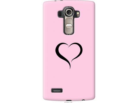 Чехол на LG G4 H815 Сердце 1 (4730u-118-22700)