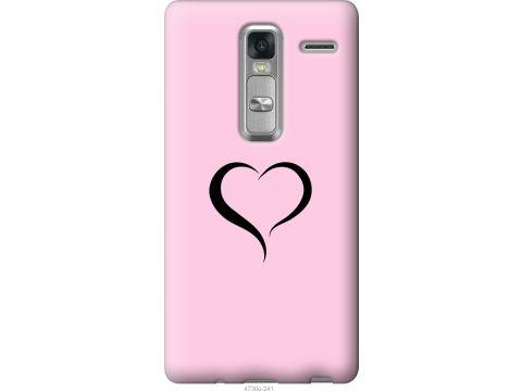 Чехол на LG Zero Сердце 1 (4730u-476-22700)