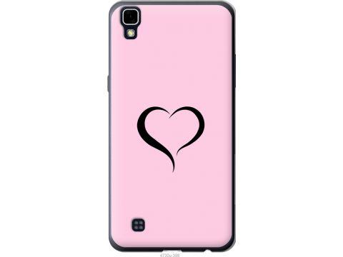Чехол на LG X Power K220DS Сердце 1 (4730u-398-22700)