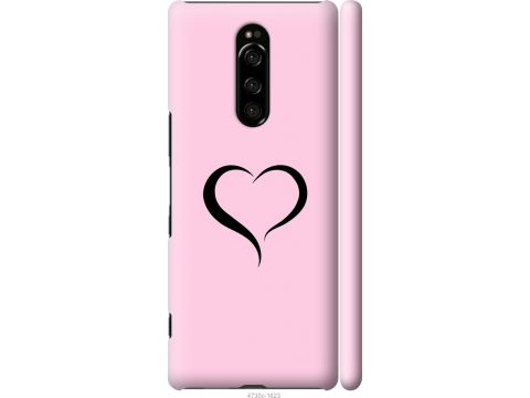 Чехол на Sony Xperia 1 J9110 Сердце 1 (4730m-1760-22700)
