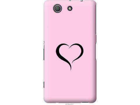 Чехол на Sony Xperia Z3 Compact D5803 Сердце 1 (4730u-277-22700)