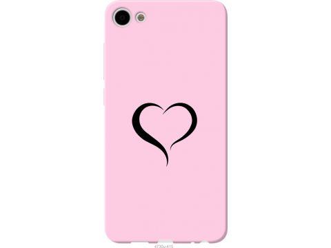 Чехол на Meizu U10 Сердце 1 (4730t-415-22700)