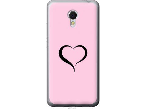 Чехол на Meizu MX6 Сердце 1 (4730u-259-22700)