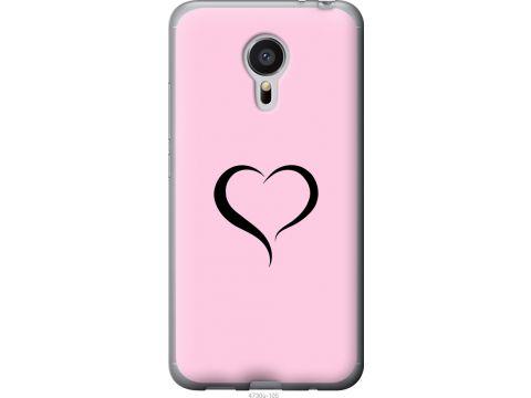 Чехол на Meizu MX5 Сердце 1 (4730t-105-22700)