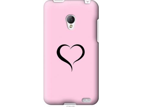 Чехол на Meizu MX2 Сердце 1 (4730u-239-22700)