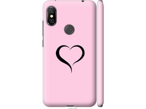 Чехол на Xiaomi Redmi Note 6 Pro Сердце 1 (4730m-1551-22700)