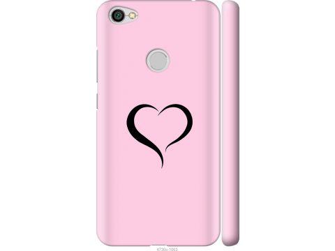 Чехол на Xiaomi Redmi Note 5A Prime Сердце 1 (4730m-1063-22700)