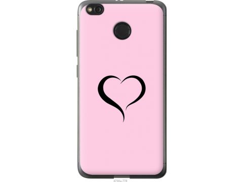 Чехол на Xiaomi Redmi 4X Сердце 1 (4730t-778-22700)