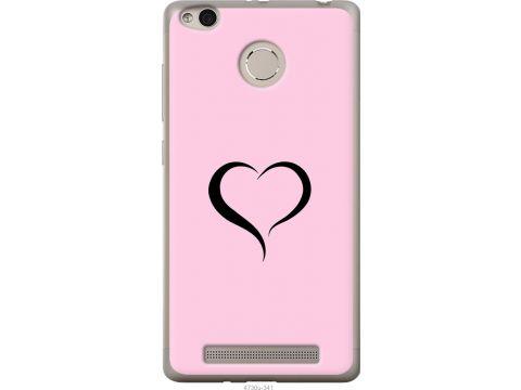 Чехол на Xiaomi Redmi 3s Сердце 1 (4730u-357-22700)