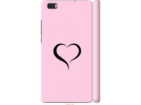 Чехол на Huawei Ascend P8 Lite Сердце 1 (4730m-126-22700)