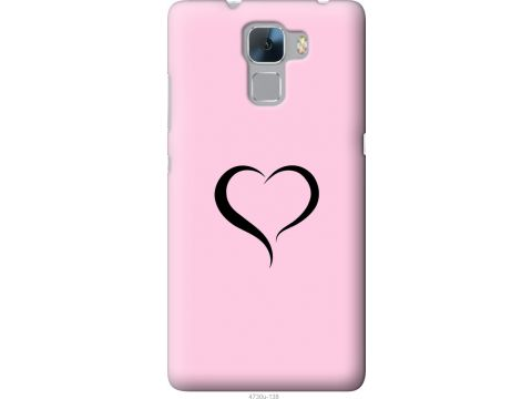 Чехол на Huawei Honor 7 Сердце 1 (4730u-138-22700)