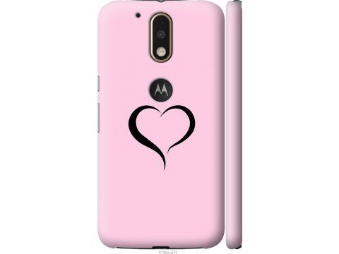 Чехол на Motorola MOTO G4 Сердце 1 (4730c-511-22700)