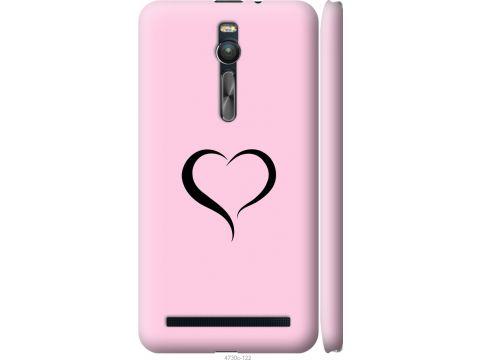 Чехол на Asus Zenfone 2 ZE551ML Сердце 1 (4730c-122-22700)
