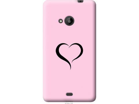 Чехол на Microsoft Lumia 535 Сердце 1 (4730u-130-22700)