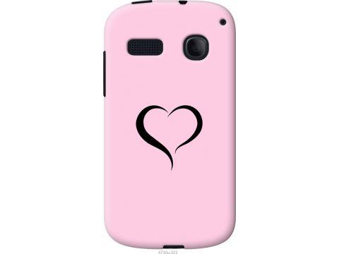 Чехол на Alcatel One Touch Pop C3 4033D Сердце 1 (4730u-323-22700)