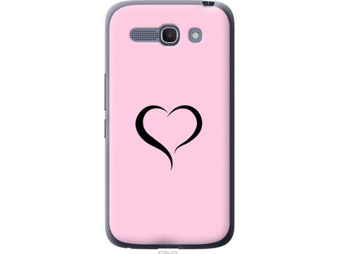 Чехол на Alcatel One Touch POP C9 Сердце 1 (4730u-319-22700)