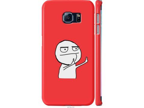 Чехол на Samsung Galaxy S6 Edge G925F Мем (4578m-83-22700)