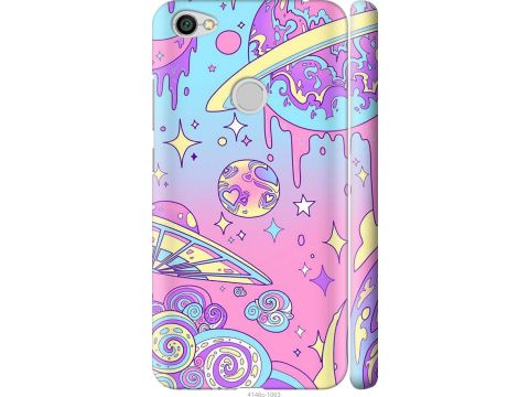 Чехол на Xiaomi Redmi Note 5A Prime Розовая галактика (4146m-1063-22700)