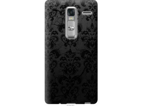 Чехол на LG Zero узор черный (1612u-476-22700)