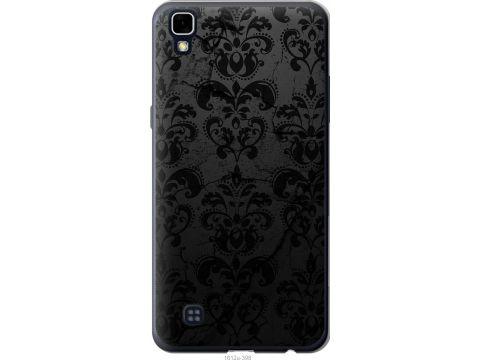 Чехол на LG X Power K220DS узор черный (1612u-398-22700)