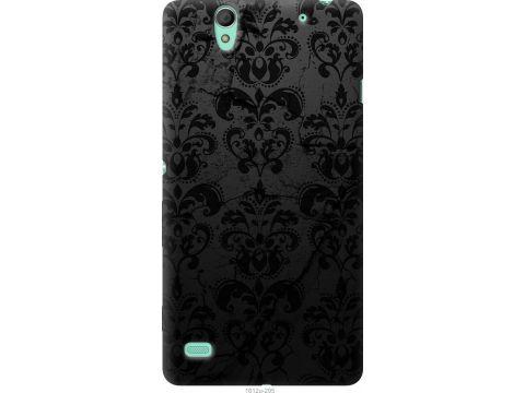 Чехол на Sony Xperia C4 E5333 узор черный (1612u-295-22700)