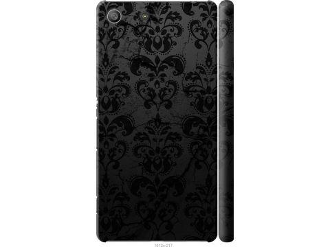 Чехол на Sony Xperia M5 E5633 узор черный (1612m-217-22700)