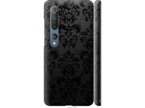 Чехол на Xiaomi Mi 10 Pro узор черный (1612m-1870-22700)