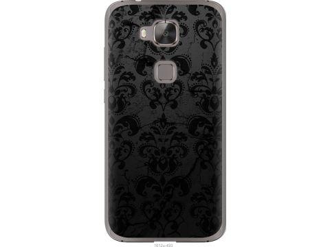 Чехол на Huawei G7 Plus узор черный (1612u-952-22700)