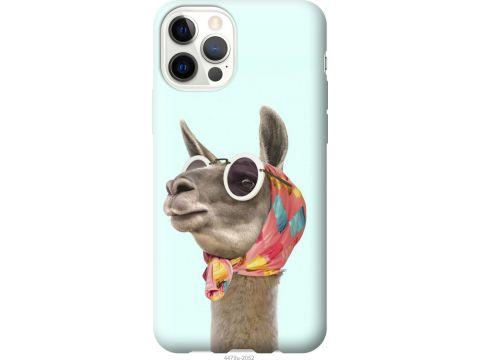 Чехол на iPhone 12 Модная лама (4479u-2053-22700)