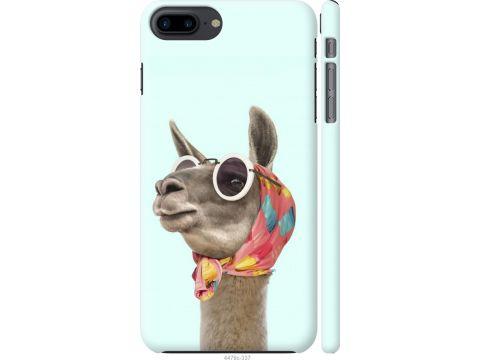 Чехол на iPhone 8 Plus Модная лама (4479c-1032-22700)