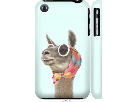 Чехол на iPhone 3Gs Модная лама (4479m-34-22700)