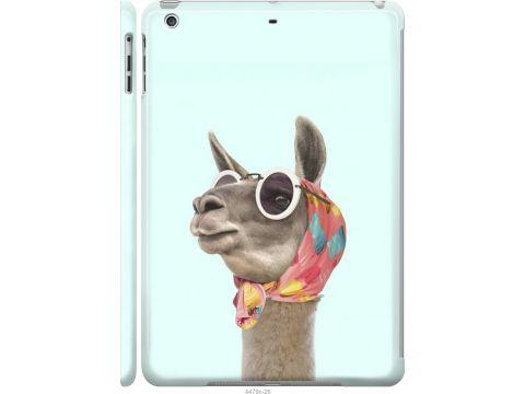 Чехол на iPad 5 (Air) Модная лама (4479c-26-22700)