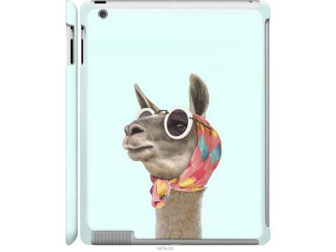 Чехол на iPad 2/3/4 Модная лама (4479m-25-22700)