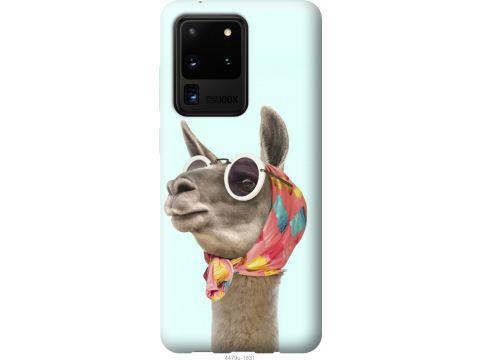 Чехол на Samsung Galaxy S20 Ultra Модная лама (4479t-1831-22700)