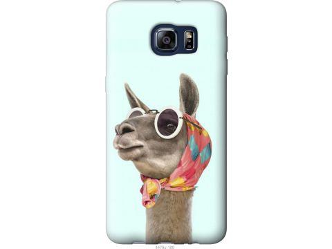 Чехол на Samsung Galaxy S6 Edge Plus G928 Модная лама (4479u-189-22700)
