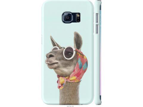 Чехол на Samsung Galaxy S6 Edge G925F Модная лама (4479m-83-22700)