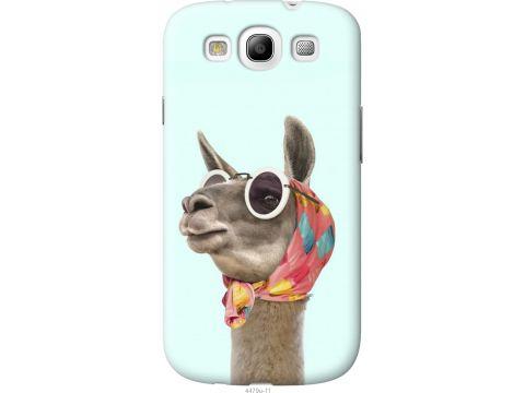 Чехол на Samsung Galaxy S3 Duos I9300i Модная лама (4479t-50-22700)
