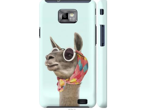 Чехол на Samsung Galaxy S2 Plus i9105 Модная лама (4479m-71-22700)