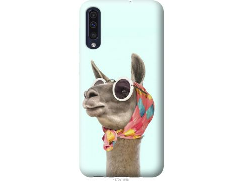 Чехол на Samsung Galaxy A30s A307F Модная лама (4479t-1804-22700)