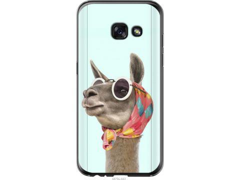 Чехол на Samsung Galaxy A3 (2017) Модная лама (4479t-443-22700)