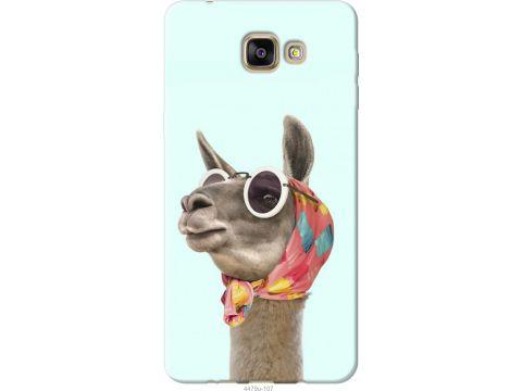 Чехол на Samsung Galaxy A9 Pro Модная лама (4479u-724-22700)
