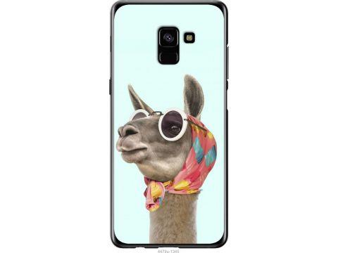 Чехол на Samsung Galaxy A8 Plus 2018 A730F Модная лама (4479u-1345-22700)