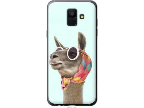 Чехол на Samsung Galaxy A6 2018 Модная лама (4479t-1480-22700)