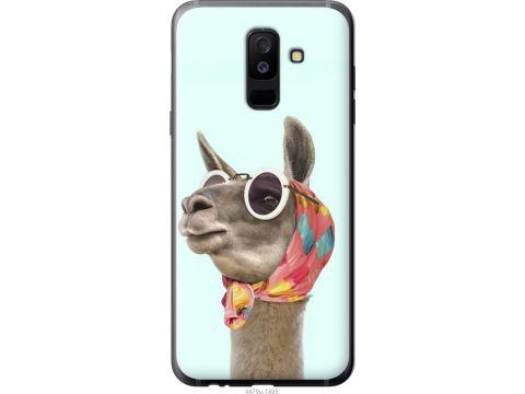 Чехол на Samsung Galaxy A6 Plus 2018 Модная лама (4479t-1495-22700)