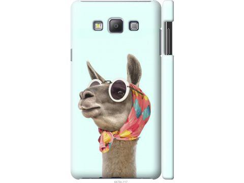 Чехол на Samsung Galaxy A7 A700H Модная лама (4479c-117-22700)