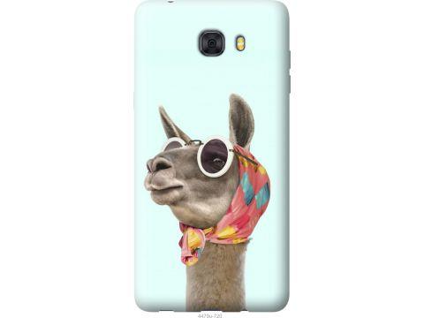 Чехол на Samsung Galaxy C9 Pro Модная лама (4479u-720-22700)